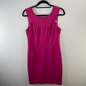 Trina Turk Pink Career Dress Size 10